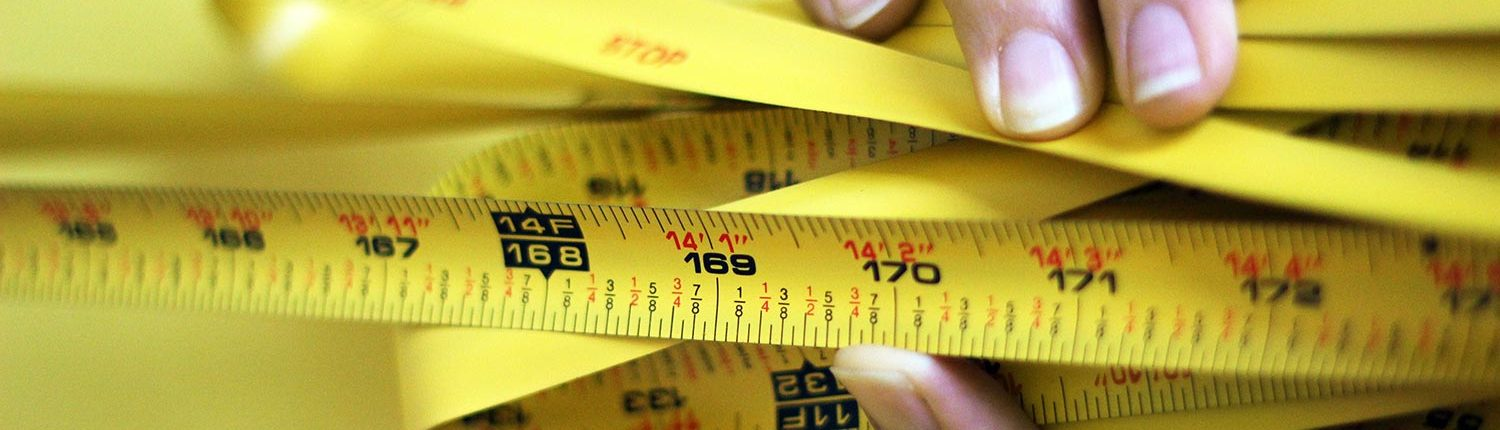 measuring tape - US ELECTRIC MAN CAVE BLOG