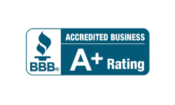 BBB A Plus rating logo