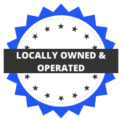 Locally owned and operated business