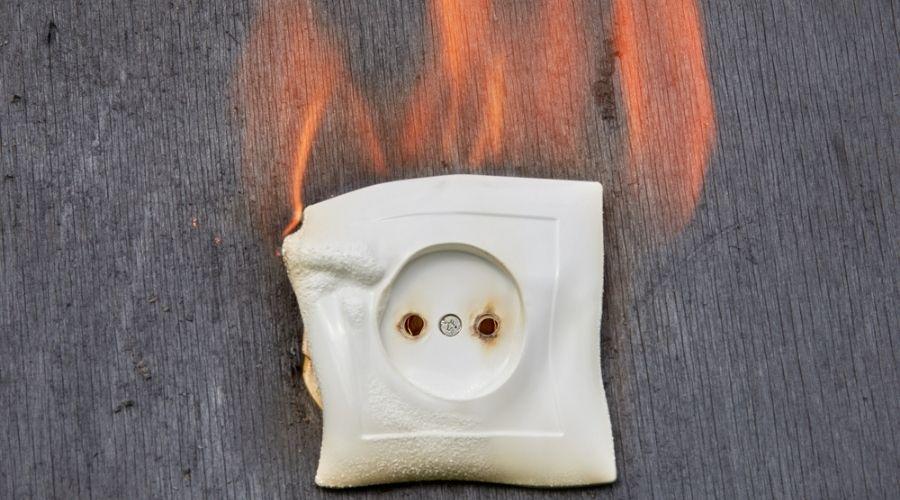 burning socket